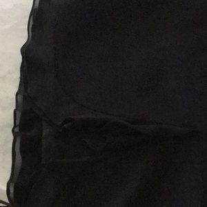 Rickie Freeman for Teri Jon Dresses - Rickie Freeman for Teri Jon Silk Black Dress 12